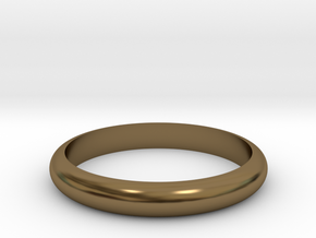 Ring 18mm in Polished Bronze