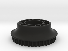 M3R16 Rear Pulley (42 Teeth) Inc. 5mm Offset in Black Natural Versatile Plastic