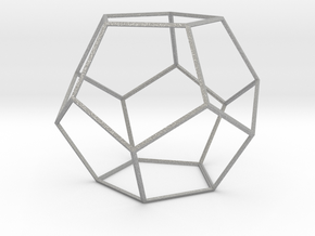 Dodecahedron in Aluminum