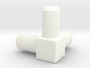 WCS REF NO LOGO in White Processed Versatile Plastic