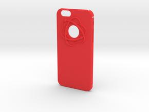 Atom in Red Processed Versatile Plastic