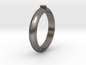 Ø18.35 Mm Functional Ring Style 1 Ø0.722 Inch in Polished Nickel Steel