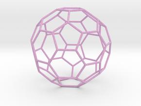 0475 Truncated Icosahedron E (13.5 см) #005 in Full Color Sandstone