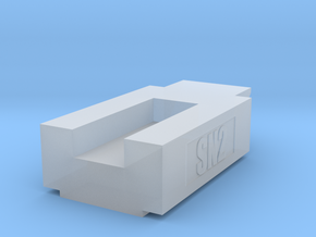 SN2 Coupler Gauge S Scale in Smooth Fine Detail Plastic