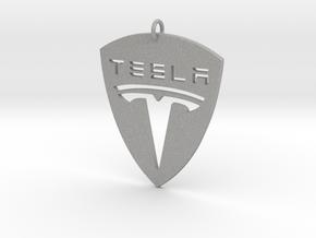 Tesla Pendant in Aluminum