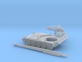 M-110A2-1-TT-proto-01 in Smooth Fine Detail Plastic