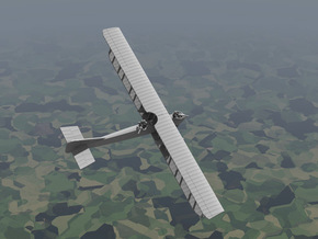 Caudron R.4 in White Strong & Flexible: 1:144