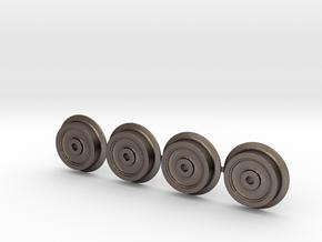 Rollbock Raeder 3mm V3.1 in Stainless Steel: 1:22.5