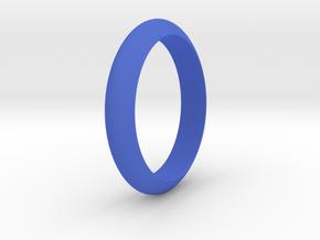 Ø21.87 Functional Design Ring Ø0.861 inch in Blue Processed Versatile Plastic