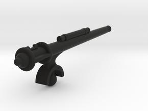 Matchbox jeep machine gun in Black Natural Versatile Plastic