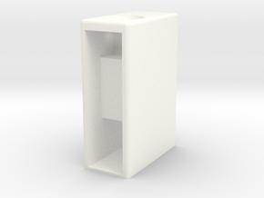 DNA200 mini box in White Processed Versatile Plastic