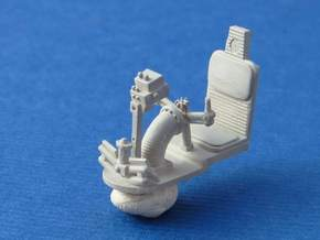 MILLENNIUM DEAGO TURRET GUN WELL SEAT in Frosted Ultra Detail