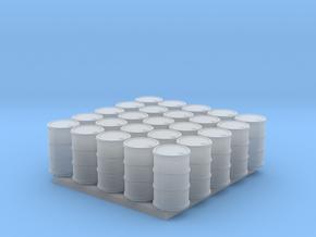 25 N/OO Scale Barrels in Smoothest Fine Detail Plastic: 1:160 - N