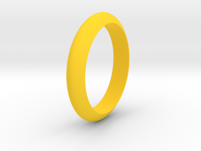 Ø23.06 Mm Functional Design Ring Ø0.907 Inch in Yellow Processed Versatile Plastic