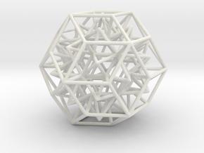 Geometric Shape Mht3dd 164 5cm in White Strong & Flexible