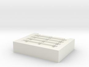 1-48 Skid Jig ver 2 in White Natural Versatile Plastic