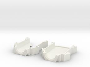 Runcam2 protective case V42 in White Natural Versatile Plastic