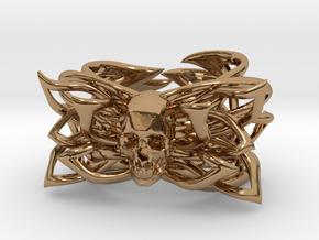 """Bracelet the Skill Size 6.5"""" in Polished Brass"""