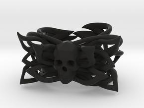 """Bracelet the Skill Size 6.5"""" in Black Natural Versatile Plastic"""
