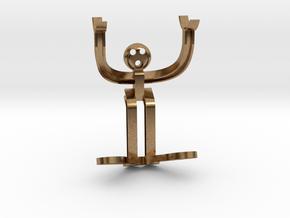H-beam Man in Natural Brass