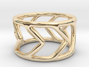 Ring Arrow in 14K Yellow Gold