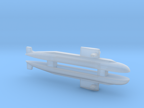 PLA[N] 039A Submarine x 2, 1/2400 in Smooth Fine Detail Plastic
