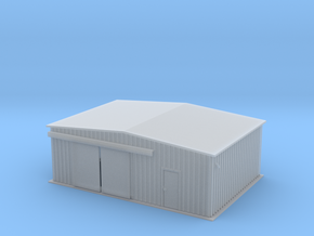 Work Shed Z Scale in Smooth Fine Detail Plastic