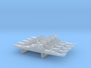 Long Beach Pack, 5pc, 1/6000 in Smooth Fine Detail Plastic