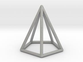 Pyramid Pendant in Aluminum