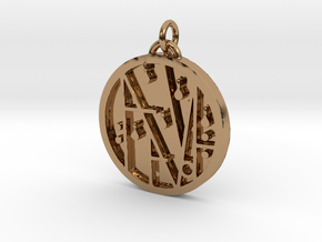PRINTS MONEY - THE SIGIL OF WEALTH AND HAVING in Polished Brass