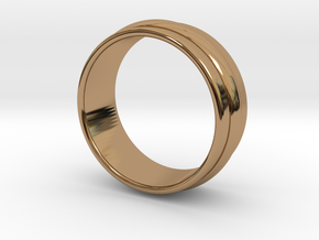 Ø 16.51 Mm Classic Beauty Ring Ø 0.650 Inch in Polished Brass