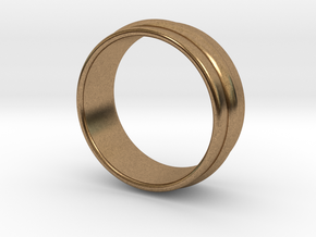 Ø19.84 Mm Classic Beauty RIng Ø0.781 Inch in Natural Brass