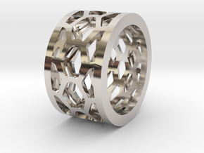 Py Ring - Female in Platinum: Extra Small
