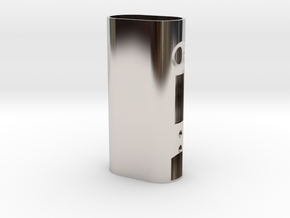 Kanger SUBOX / TOPBOX Custom Case in Rhodium Plated Brass