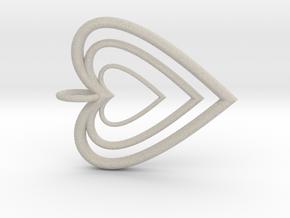 3H Pendant  in Natural Sandstone