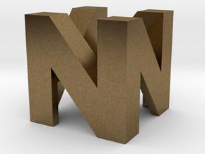 Cherry MX - Keycap - N64 Logo in Natural Bronze