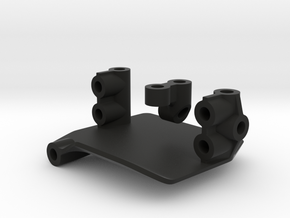 Margouillat Front AR60 Axle | Support Servo in Black Strong & Flexible