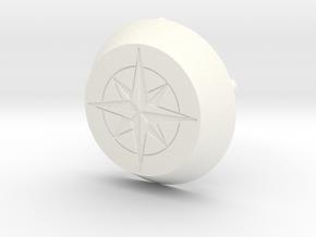 Radkappe Ford Transit Custom Nugget Westfalia in White Processed Versatile Plastic