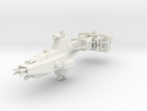 EA Heavy Cruiser Large in White Strong & Flexible