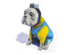 Minion Frenchie in Full Color Sandstone