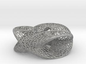 Honeycomb Double Trefoil in Aluminum