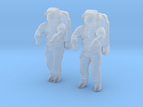 NASA Astronaut EMU (1:48 Double Pack) in Smoothest Fine Detail Plastic