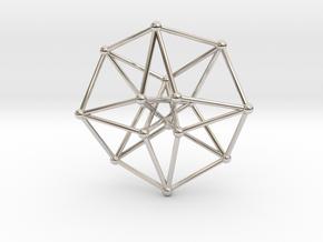 Toroidal Hypercube 35x1mm Spheres in Platinum