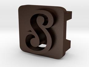 BandBit S1 for Fitbit Flex in Matte Bronze Steel