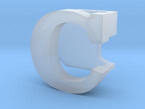 BandBit C1 for Fitbit Flex in Smoothest Fine Detail Plastic