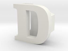 BandBit D1 for Fitbit Flex in White Natural Versatile Plastic