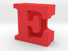 BandBit E for Fitbit Flex in Red Processed Versatile Plastic