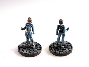Alexandra Pryce (28mm/Heroic scale) in Frosted Ultra Detail