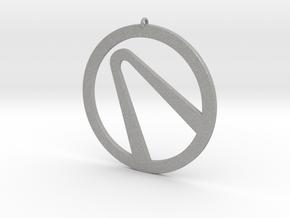 Borderlands - Vault Emblem Pendant in Aluminum