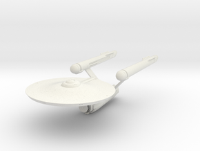 Old Enterprise With Open Bay in White Natural Versatile Plastic